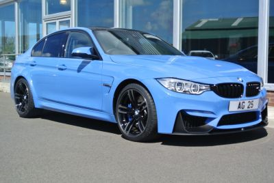 BMW M3 3.0 M3 4dr DCT Saloon Petrol BlueBMW M3 3.0 M3 4dr DCT Saloon Petrol Blue at Colin Gregg Cars Kirkwall